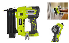 Ryobi Cordless Electric Brad Nailer, Staple Nail Finish Gun, Air Power Tool 18v