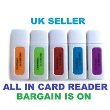 USB 2.0 Multi Card Reader 4-in-1 Memory for M2 SD SDHC DV Micro SD TF Card