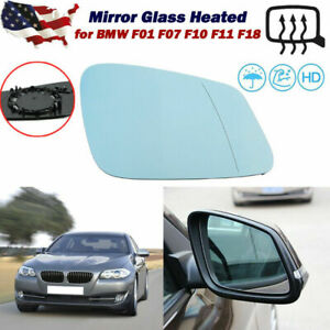 Mirror Glass Heated Passenger Right Side For BMW F10 528i 550i 535i xDrive 09-16