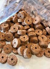 "Cork Rings 12 Smokey Burl, 1 1/4"" x 1/2� x 1/4"", Save!"