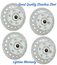 """16"""" MERCEDES SPRINTER 2500 3500 STEEL HUBCAP COVERS FOR 18 HOLE SINGLE WHEELS ©"""
