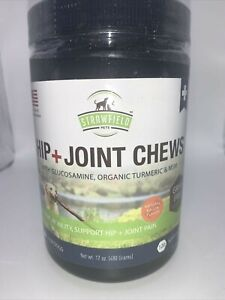 Dogs Hip Joint Soft Chews MSM Yucca Vitamin C Turmeric Bacon Flavor 120 ct