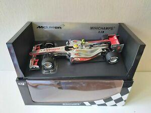 Minichamps 1/18 McLaren Mercedes Mp 4/25 L. Hamilton - 2010 - 530101802