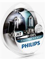 2 AMPOULES H7 PHILIPS ALFA 147 156 166 GT X-TREME VISION +100% 12V 55W
