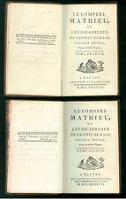 DU LAURENS JOSEPH LE COMPERE MATHIEU OU LES BIGARRURES MALTHE GRAND MAITRE 1887