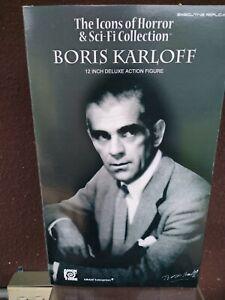 "Executive Replicas Amok Time 12"" 1/6 Boris Karloff Figure"