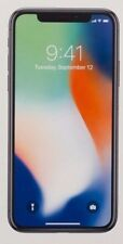 Apple iPhone X - 256GB - Silber (Versiegelt) Silikon Panzer Geschenkt