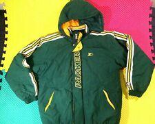 Vintage Green Bay Packers Starter Pro Line Hooded Lined Jacket Men's Size Large