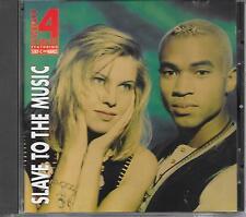 TWENTY 4 SEVEN - Slave to the music CD Album 11TR Eurodance 1993 (INDISC)