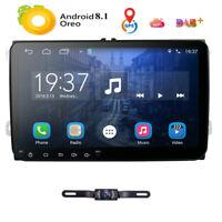 "9"" Android 8.1 Autoradio 2 DIN GPS Navi DAB USB Für VW Passat Golf 5 Polo Tiguan"