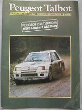 1985 Peugeot Talbot range Brochure publication number C1234/6/85
