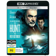 The Hunt For Red October (Blu-ray, 2018, 2-Disc Set)