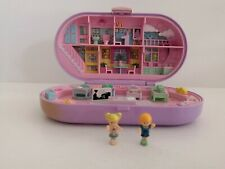 Stampin School Playset Polly Pocket Bluebird 1992 + Personnages et tampons