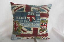 United Kingdom GB Cotton Cushion Cover