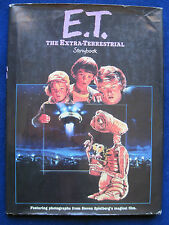 E.T. STORY BOOK - SIGNED by STEVEN SPIELBERG, DREW BARRYMORE, Author, Cast, Crew