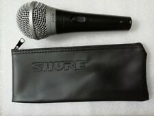 100% Genuine SHURE PG48 Microphone-New with Bag  *1 Year Warranty*  *UK Seller*