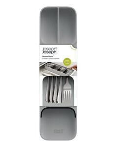 Joseph Joseph Cutlery Organiser Kitchen Utensils Holder Compact Drawerstore Grey