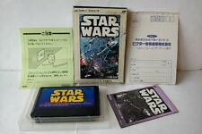 Star Wars for Nintendo Famicom NES RPG game Cartridge, manual, Boxed set-a929-