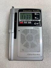 GRUNDIG G4 EXECUTIVE TRAVELLER 8 BAND PORTABLE RADIO/SHORT WAVE