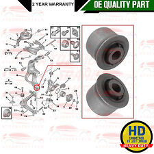 FOR CITROEN C5 C6 FRONT SUSPENSION LOWER HUB CARRIER BOTTOM BUSH BUSHES