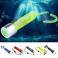 3500LM LED Underwater 50M Diving Flashlight Torch 18650 MTC JCAU