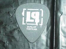 LINKIN PARK LP Logo & Brad Delson Signature 2005 RaRe Concert Tour GUITAR PICK
