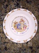 Royal Doulton Bunnykins Celebrate Your Christening Bone China Plate 1993