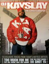"DJ KAYSLAY POSTER, ""THE STREETSWEEPER VOL. 1""  (K4)"