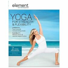 Element: Yoga for Strength  Flexibility (DVD, 2013)