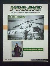 9/2006 REVUE PEGASE N°122 AUTOGIRE LA CIERVA DOUGLAS SKYRAIDER PAUL VACHET