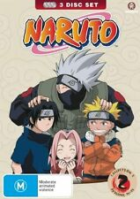 Naruto  Collection 2 Eps 14 - 25 (DVD, 2008, 3-Disc Set) Region 4 NEW SEALED T38