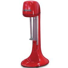 Roband 2 Speed Milkshake Maker & Drink Mixer in Red 710ml Cup Dm21r