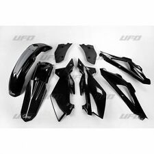 UFO Plast 5 Piece Motocross Plastic Kit Husqvarna CR 125 250 2T 2006 Black