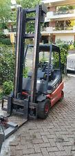 Chariot élévateur Linde E30-01 électrique 3000 Kg + Chargeur