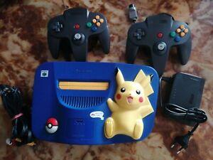Nintendo 64 Pokemon Pikachu Edition Blau Spielekonsole (NTSC)