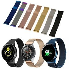 Milanese Armband Samsung Huawei Amazfit Garmin Metall Magnet 20mm 22mm Milanaise