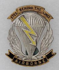 Vintage German Made 7th Corp Long Range Reconnaissance Patrol (Lrrp) Di Insignia