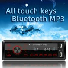 M10 1 DIN Car Stereo MP3 Player In Dash Bluetooth AUX-in Radio Head Unit #VIC