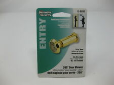"Prime Line U 9891 200 Degree Door Viewer 9/16"", Brass"