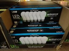 6X LED DAYLIGHT(super bright) 60W Dimmable Bulbs FEIT ELECTRIC 800 Lumens - NEW