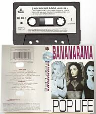 BANANARAMA cassette K7 tape POP LIFE french pressing paper label
