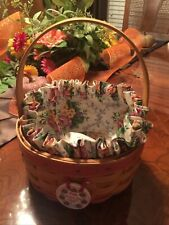 New ListingLongaberger 1998 Happy Mothers Day Round Basket Combo