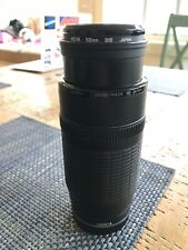 canon EF100-300 zoom lens (for non-digital) SLR