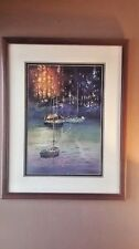 "Beautifully Framed, Kiff Holland Lithograph 28.5"" x 23.5"""