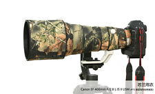 Lens Camouflage Rain Cover for Canon EF 400mm F/2.8 L IS II USM Guns Clothing