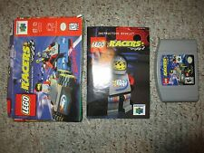 Lego Racers (Nintendo 64 N64) Complete in Box FAIR