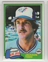 1981 Topps Baseball Toronto Blue Jays Team Set