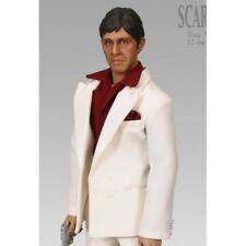 "SIDESHOW 30cm EXCLUSIVE SCARFACE TONY MONTANA 12"" TALKING ACTION FIGURE NEW"
