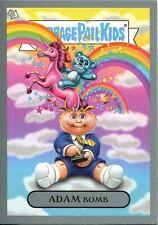 "Garbage Pail Kids Flashback Series 3 Silver Adam Mania Chase Card #10 ""Rainbows"""