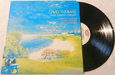 DAVID THOMAS❖MORE PLACES FOREVER❖Lindsay Cooper Chris Cutler Henry Cow❖vinyl LP